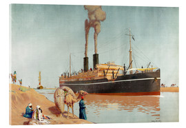 Charles Pears - Suez canal