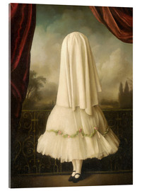 Acrylic print  An invisible girl - Stephen Mackey
