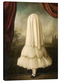 Canvas  An invisible girl - Stephen Mackey