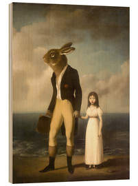 Wood print  Magic uncle - Stephen Mackey