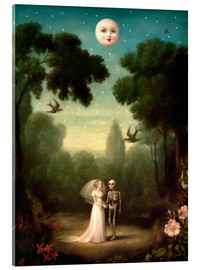 Acrylic glass  The moons trousseau - Stephen Mackey