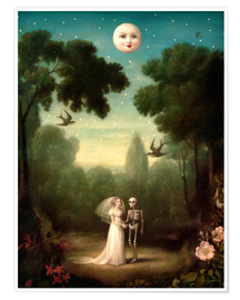 Premium poster  The dowry of the moon - Stephen Mackey