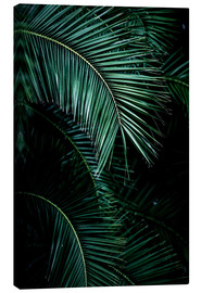 Canvas print  Palm leaves 9 - Mareike Böhmer Photography