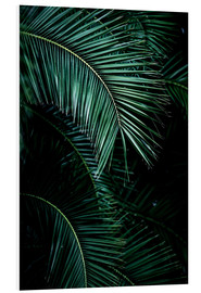 Foam board print  Palm leaves 9 - Mareike Böhmer