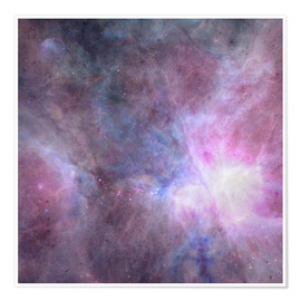 Premium poster The Purple Density Of The Universe