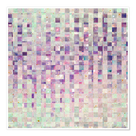 Premium poster Purple And Pink Galaxy Pattern