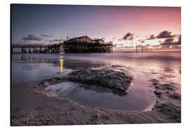 Aluminium print  Sankt Peter-Ording / North Sea I - Silly Photography