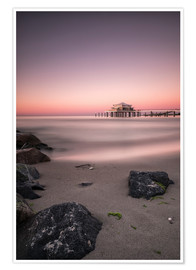 Premium poster  Timmendorfer Strand / Baltic Sea - Silly Photography