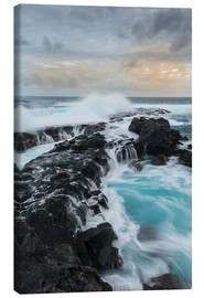 Canvas print  Wild Coast of the La Reunion Island, France - Markus Ulrich