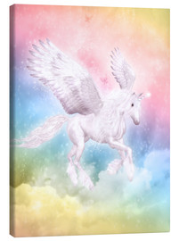 Canvas print  Unicorn Pegasus, big dreams - Dolphins DreamDesign