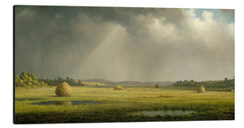 Aluminium print  Newburyport Meadows - Martin Johnson Heade