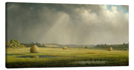 Canvas  Newburyport Meadows - Martin Johnson Heade