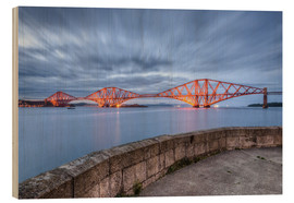 Wood  Edinburgh Forth Bridge - Michael Valjak