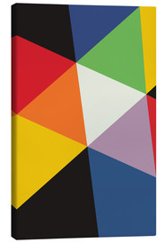 Canvas print  SWISS GEOMETRY - THE USUAL DESIGNERS