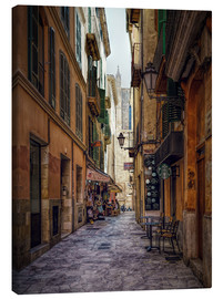 Canvas print  Alley in Palma de Mallorca - Daniel Heine