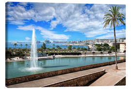 Canvas print  Port of Palma de Mallorca - Daniel Heine