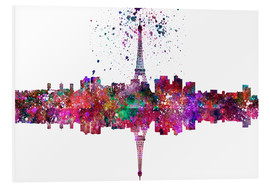Foam board print  Paris City - Dani Jay Designs