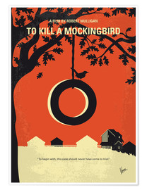 Poster  No844 My To Kill a Mockingbird minimal movie poster - chungkong