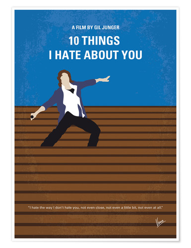 Premium poster 10 Things I Hate About You