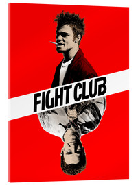 Acrylic glass  Fight Club - Paola Morpheus