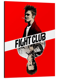 Aluminium print  Fight Club - Paola Morpheus