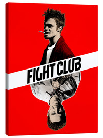 Canvas  Fight club two face - Paola Morpheus