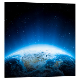 Acrylic print  Africa from space, NASA