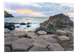 Forex  Sunset at Giant's Causeway in North Antrim, Northern Ireland
