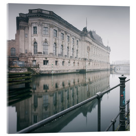 Acrylic print  Bode Museum Berlin in winter - Philipp Dase