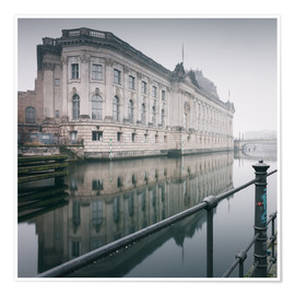 Premium poster Bode Museum Berlin in winter