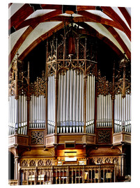 Acrylic print  Organ in St. Thomas Church, Leipzig music trail - imageBROKER