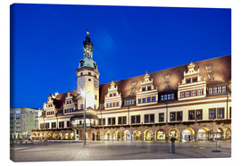 Canvas print  Old Town Hall, Leipzig - imageBROKER