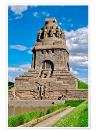 Premium poster The Monument to the Battle of the Nations