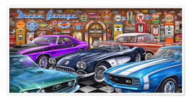 Premium poster Dream Garage II