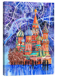 Canvas print  Red Square, Moscow, Russia - Anastasia Mamoshina
