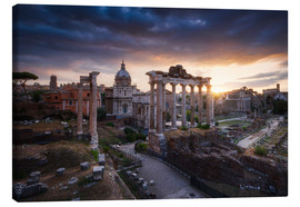Canvas print  Forum Romanum - Michael Breitung