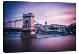 Canvas print  Budapest - Chain Bridge - Alexander Voss