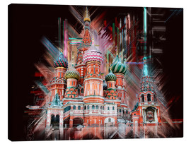 Canvas print  Moscow Basilica Cathedral - Peter Roder