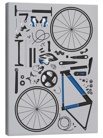 Canvas print  Bike skeleton