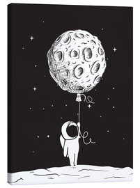 Canvas print  Out and about in space - Kidz Collection