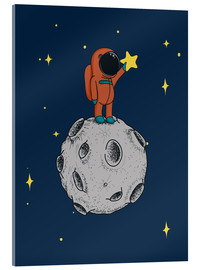 Acrylic print  Read for the stars - Kidz Collection