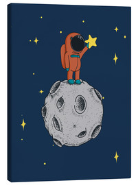 Canvas print  Read for the stars - Kidz Collection