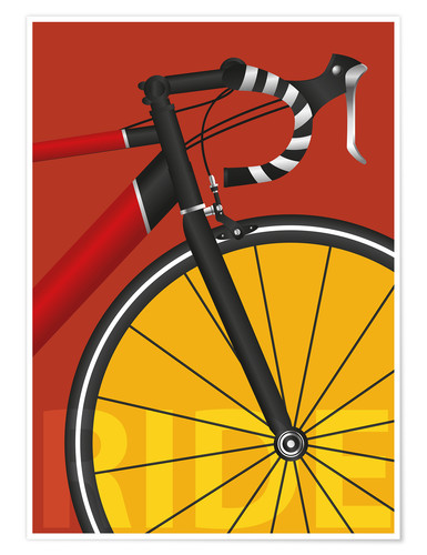 Premium poster my road bike
