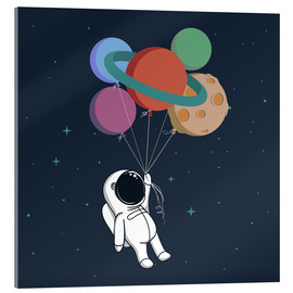 Acrylic print  Space journey - Kidz Collection