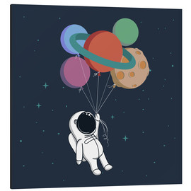 Aluminium print  Space journey - Kidz Collection