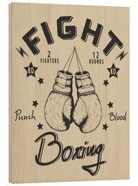 Wood  Fight - Boxing