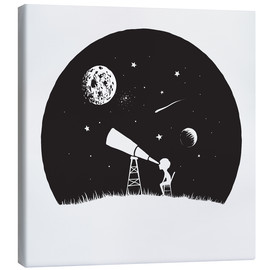 Canvas print  Looking into the stars - Kidz Collection