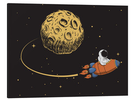 Alu-Dibond  To the moon and back - Kidz Collection