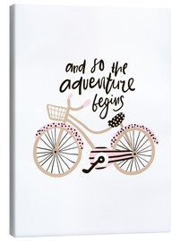 Canvas print  Adventure Bike - Kidz Collection