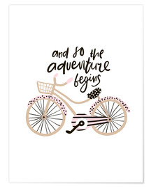 Premium poster  Adventure Bike - Kidz Collection